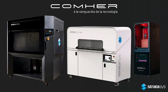 Stratasys avanza a paso de gigante en su estrategia de Fabricación Aditiva con tres nuevas impresoras 3D