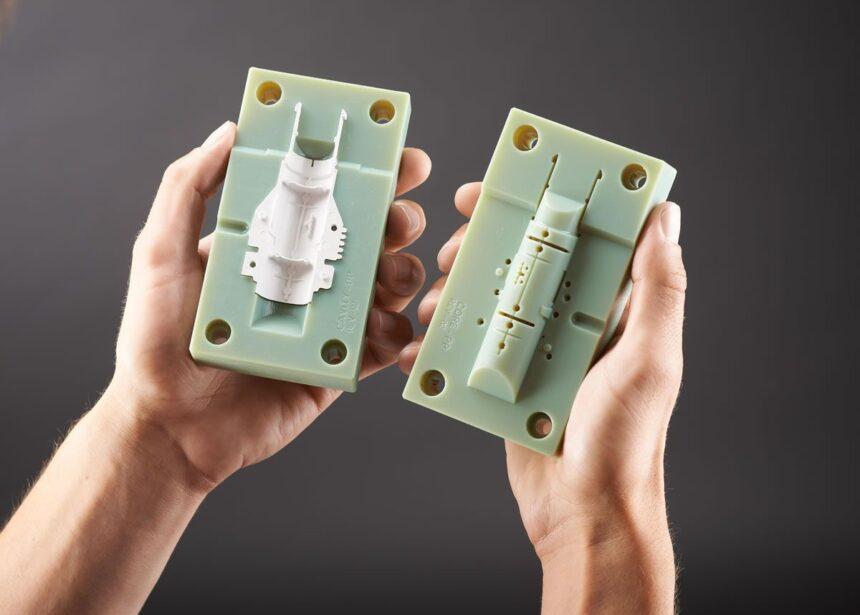 Fabricación de moldes con impresión 3D