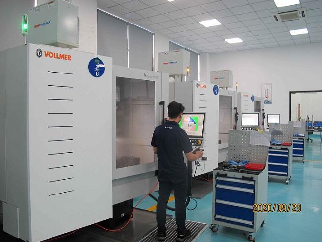 El fabricante de herramientas chino apuesta por Vollmer
