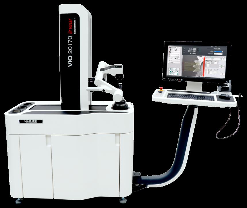 Nueva y optimizada función de Gear Skiving para la máquina de preajuste HAIMER Microset VIO Linear