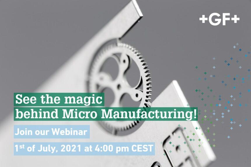 Con nuestro seminario web descubrirá cómo mejorar su productividad con el micromecanizado por láser