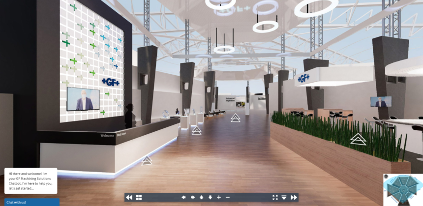 ¡La Sala de Exposición Virtual online de GF Machining Solutions ya está operativa!