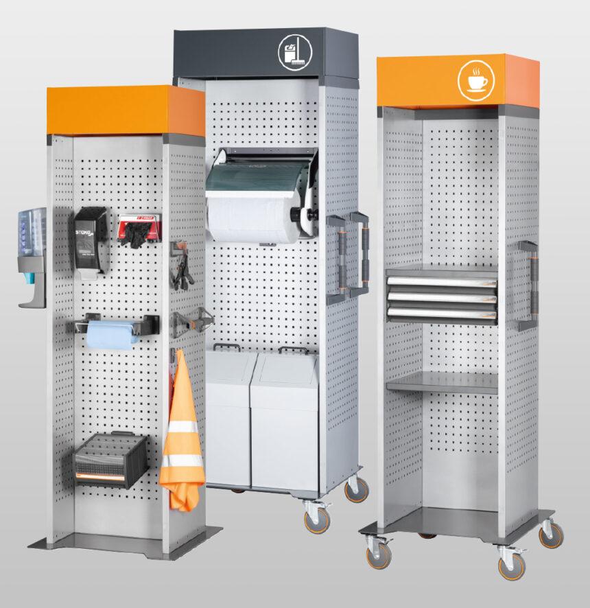 Nuevo sistema modular de mobiliario industrial GARANT UNI Line vela por el orden en su taller o sala de producción