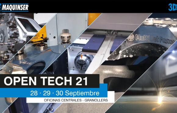 MAQUINSER organiza el OPEN TECH 21 en sus oficinas centrales de Granollers