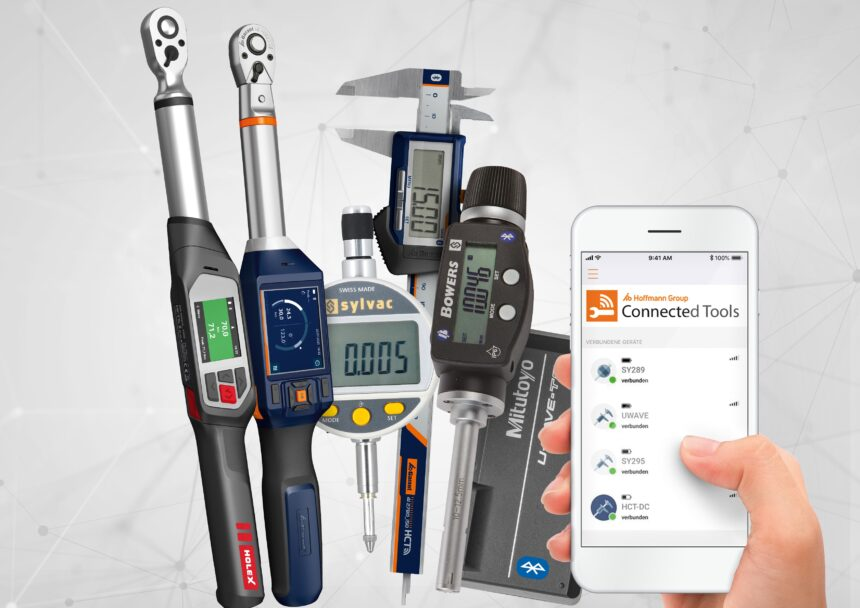 Hoffmann Group Connected Tools (HCT) amplia la familia con Mitutoyo, Bowers Group, Sylvac y HOLEX